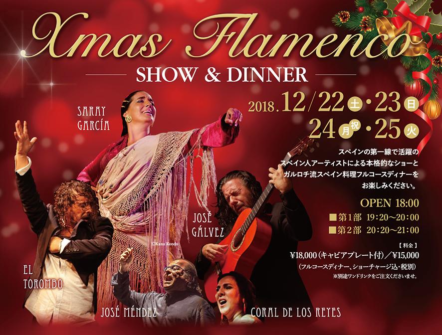 クリスマスフラメンコ SHOW&DINNER