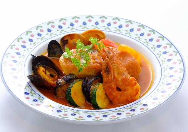 魚介と彩り野菜のトマト煮(1日数量限定!)