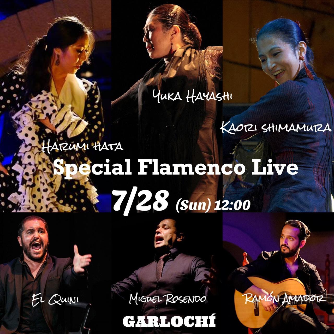 【7/28】林結花×秦晴美×島村香 Special Flamenco Live!!